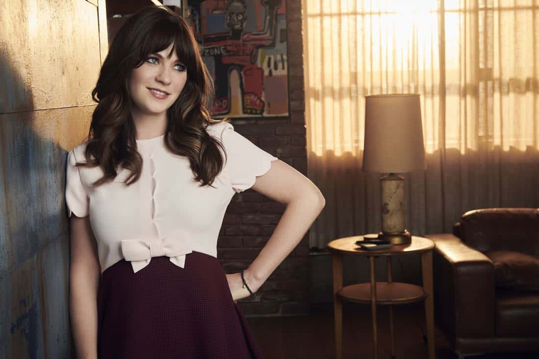 NEW GIRL: Zooey Deschanel returns as Jess in season seven of NEW GIRL coming soon to FOX. ©2017 Fox Broadcasting Co. Cr: Jeff Lipsky/FOX