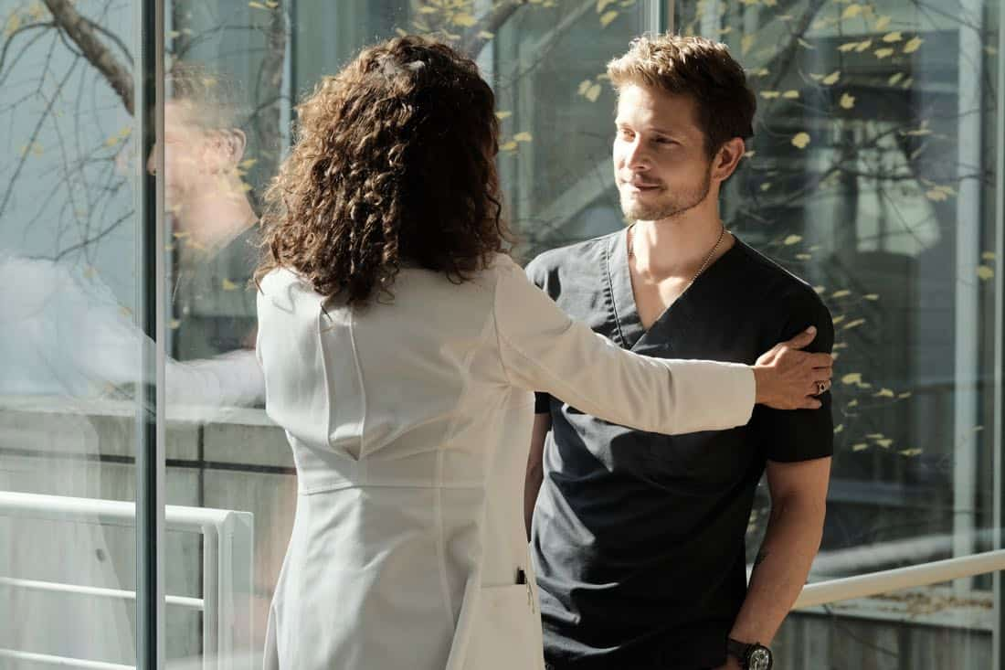 "THE RESIDENT: Matt Czuchry in the ""Lost Love"" episode of THE RESIDENT airing Monday, March 26 (9:00-10:00 PM ET/PT) on FOX. ©2018 Fox Broadcasting Co. Cr: Guy D'Alema/FOX"