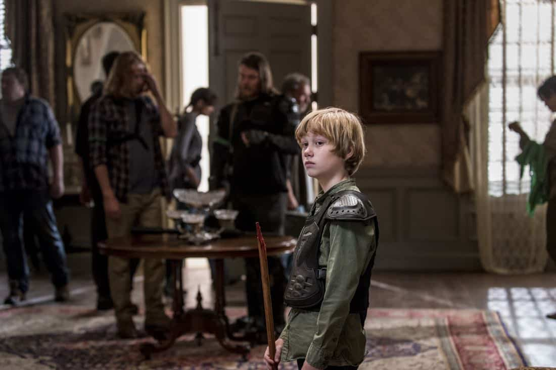 Macsen Lintz as Henry - The Walking Dead _ Season 8, Episode 13 - Photo Credit: Gene Page/AMC