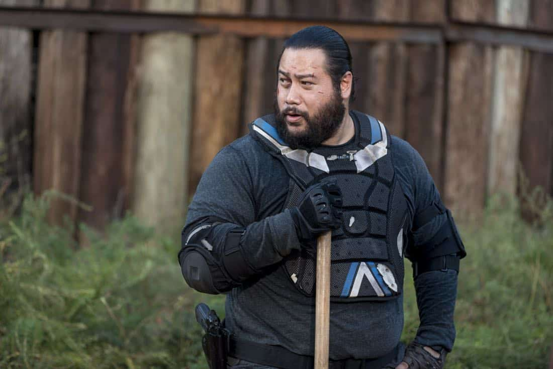 Cooper Andrews as Jerry - The Walking Dead _ Season 8, Episode 13 - Photo Credit: Gene Page/AMC