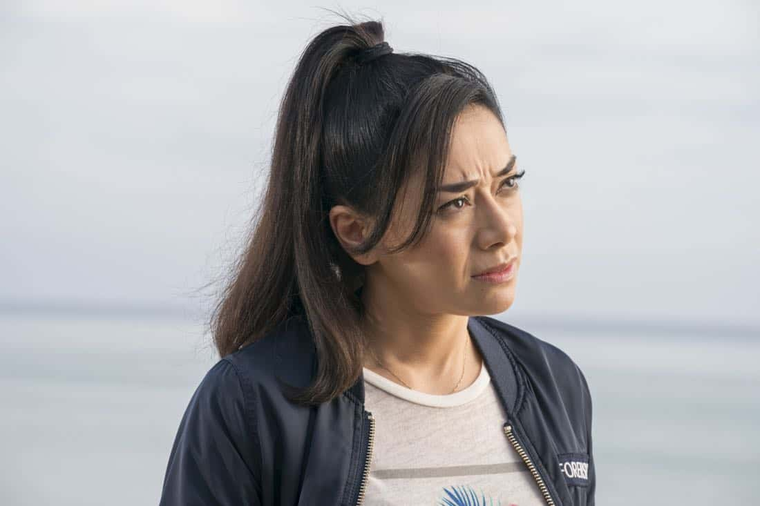 "LUCIFER: Aimee Garcia in the ""Orange Is The New Maze"" episode of LUCIFER airing Monday, March 26 (8:00-9:00 PM ET/PT) on FOX. CR: Erik Voake/FOX"