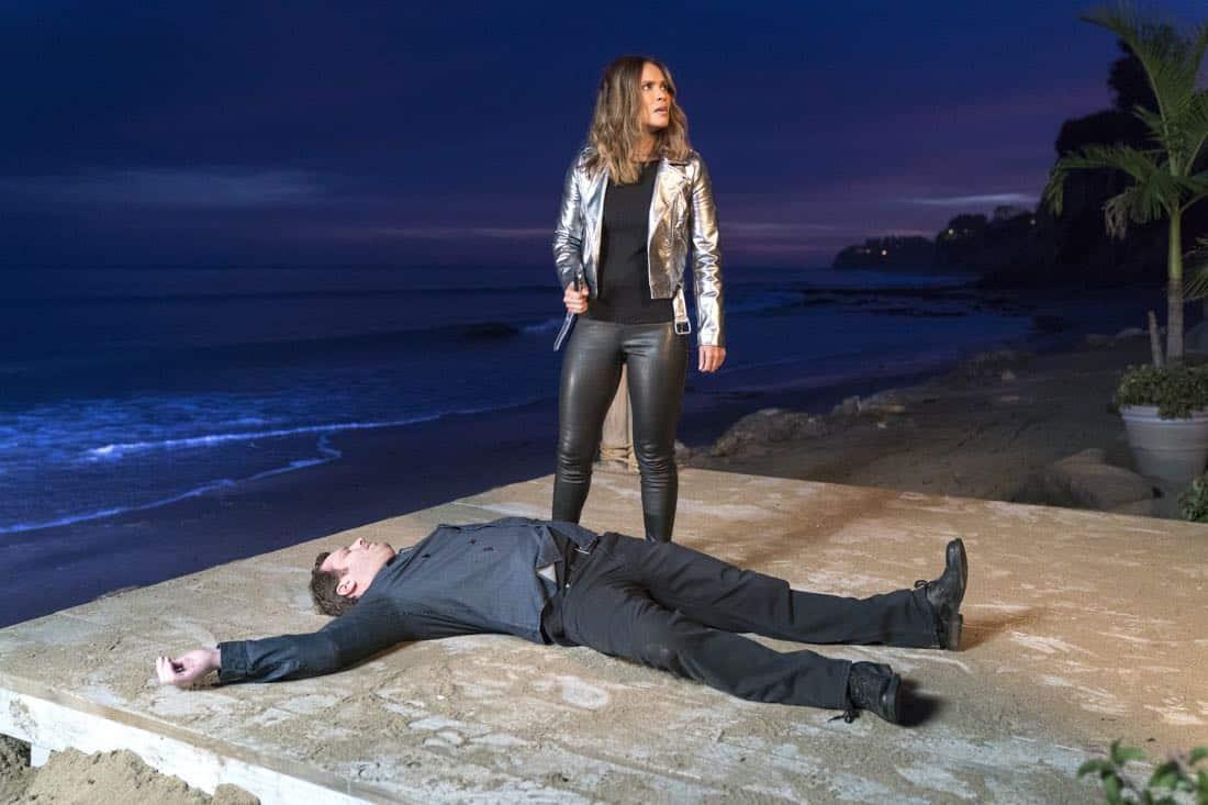 "LUCIFER: Lesley-Ann Brandt in the ""Orange Is The New Maze"" episode of LUCIFER airingMonday, March 26 (8:00-9:00 PM ET/PT) on FOX. CR: Erik Voake/FOX"