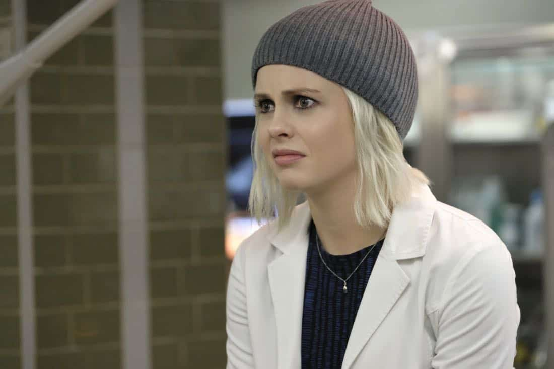 "iZombie -- ""Goon Struck"" -- Image Number: ZMB405a_0254.jpg -- Pictured: Rose McIver as Liv -- Photo: Bettina Strauss/The CW -- © 2018 The CW Network, LLC. All rights reserved."
