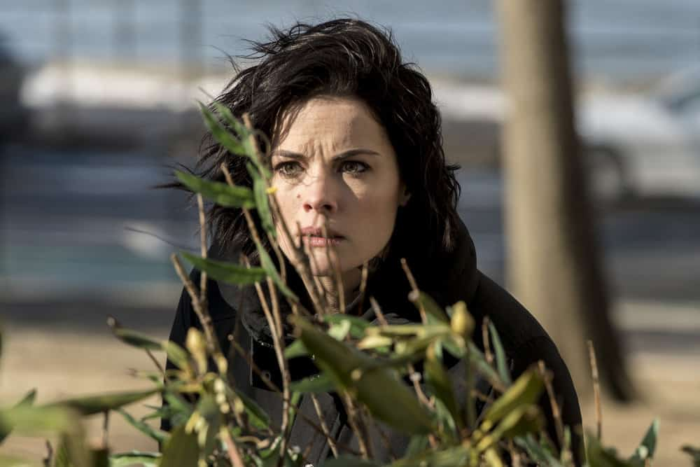 "BLINDSPOT -- ""Artful Dodge"" Episode 316 -- Pictured: Jaimie Alexander as Jane Doe -- (Photo by: David Giesbrecht/NBC/Warner Bros)"