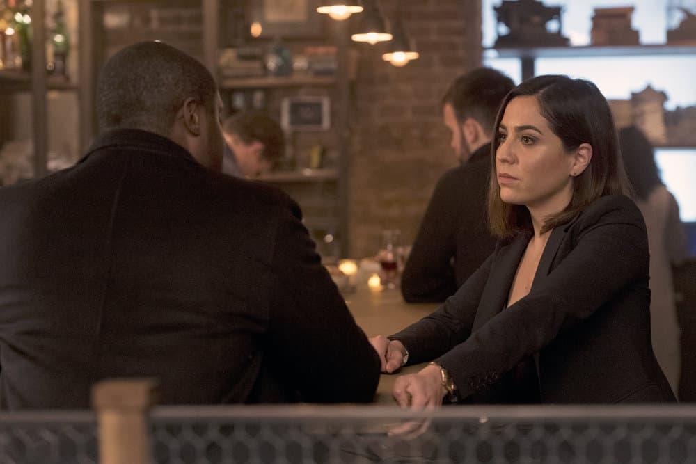 "BLINDSPOT -- ""Artful Dodge"" Episode 316 -- Pictured: Audrey Esparza as Tasha Zapata -- (Photo by: David Giesbrecht/NBC/Warner Bros)"