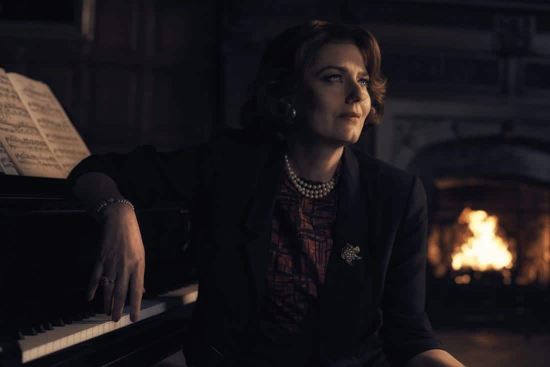 TRUST -- Pictured: Anna Chancellor as Penelope Kittson. CR: Kurt Iswarienko/FX