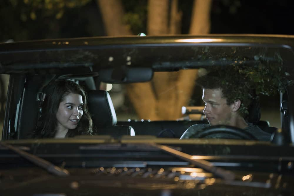 "RISE -- ""What Flowers May Bloom"" Episode 103 -- Pictured: (l-r) Auli'i Cravalho as Lilette Suarez, Damon J. Gillespie as Robbie Thorne --  (Photo by: Peter Kramer/NBC)"