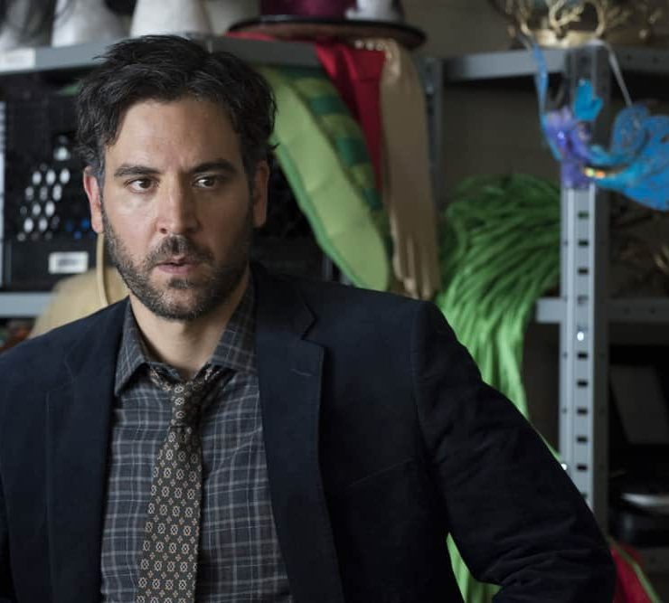 "RISE -- ""What Flowers May Bloom"" Episode 103 -- Pictured: Josh Radnor as Lou Mazzuchelli -- (Photo by: Virginia Sherwood/NBC)"