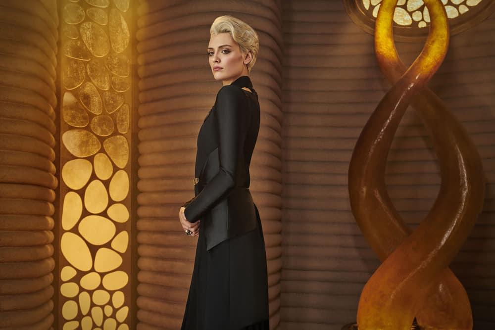 KRYPTON -- Season:1 -- Pictured: Wallis Day as Nyssa-Vex -- (Photo by: Gavin Bond/Syfy)