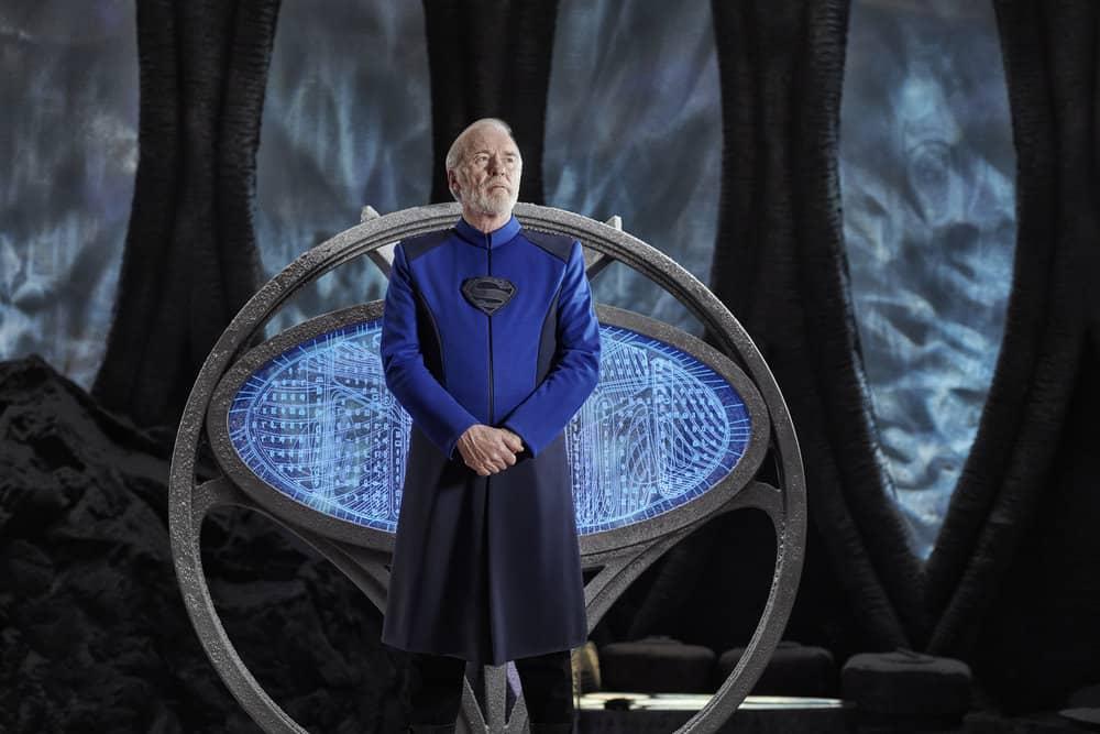 KRYPTON -- Season:1 -- Pictured: Ian McElhinney as Val-El -- (Photo by: Gavin Bond/Syfy)