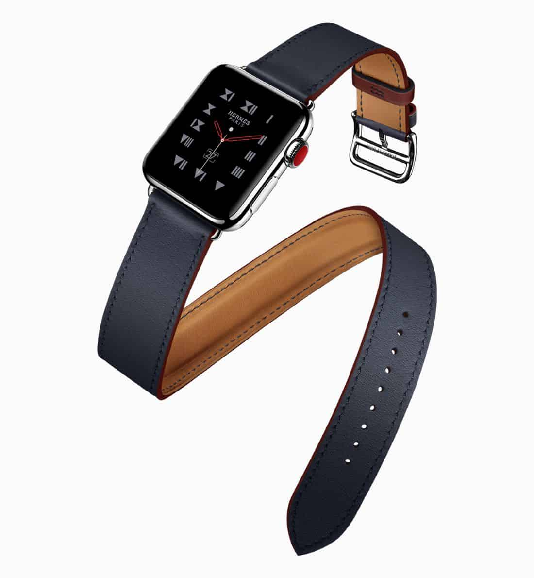 Apple Watch Series3 Hermes double tour 032118