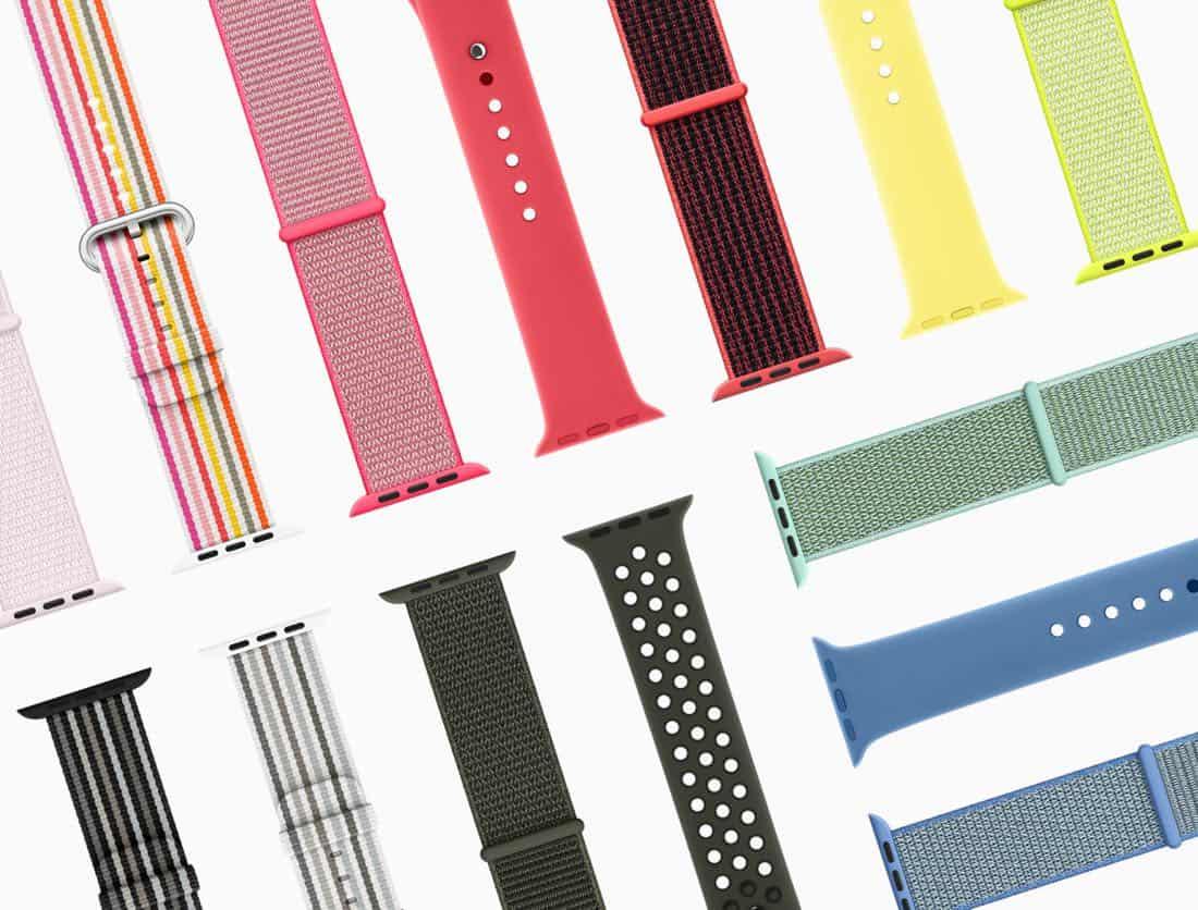 Apple Watch Series3 springbands 032118