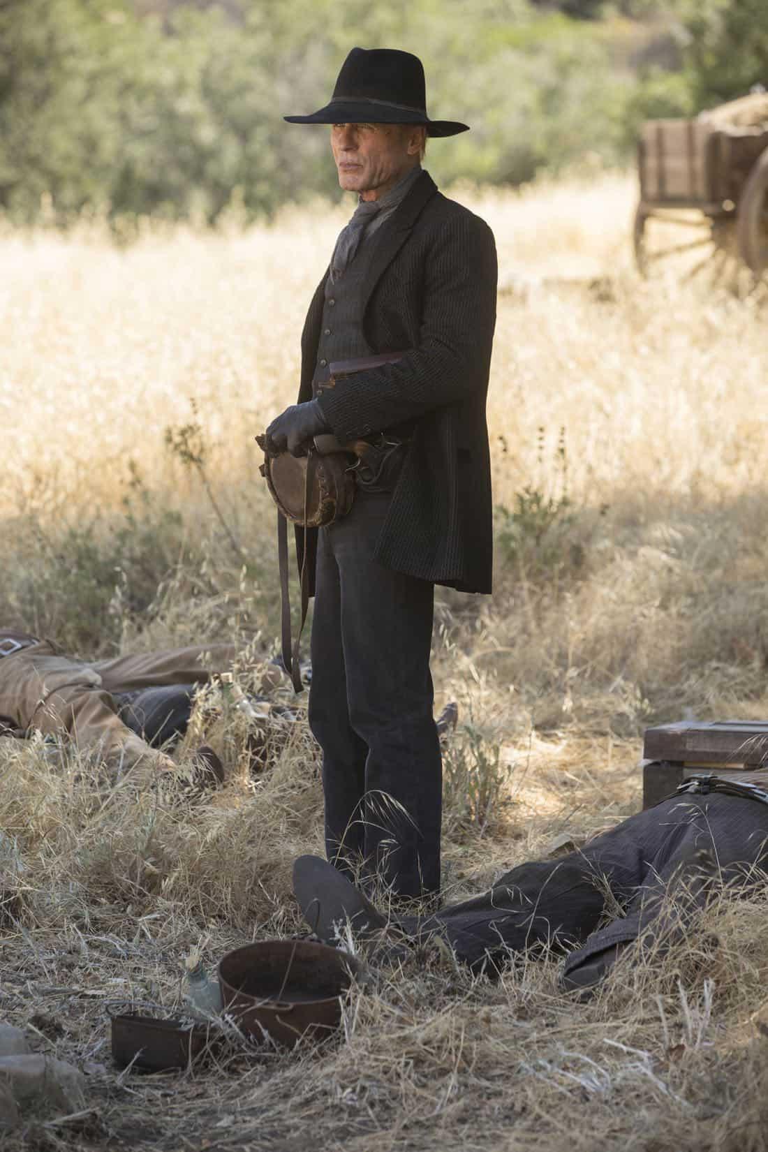 Episode 11 (season 2, episode 1), debut 4/22/18: Ed Harris. photo: John P. Johnson/HBO