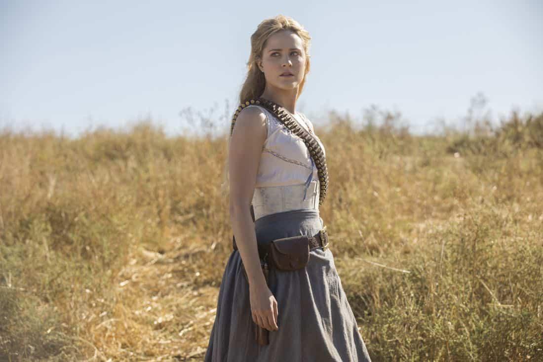 Episode 11 (season 2, episode 1), debut 4/22/18: Evan Rachel Wood. photo: John P. Johnson/HBO