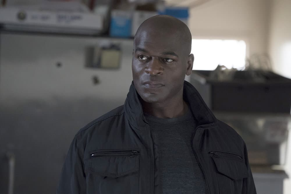 "THE BLACKLIST -- ""Anna-Gracia Duerte (#25)"" Episode 517 -- Pictured: Hisham Tawfiq as Dembe Zuma -- (Photo by: Virginia Sherwood/NBC)"