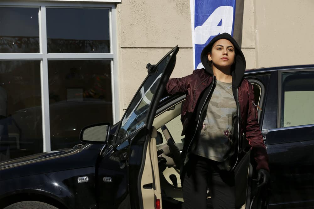 "THE BLACKLIST -- ""Anna-Gracia Duerte (#25)"" Episode 517 -- Pictured: Jearnest Corchado as Anna-Garcia Duerte -- (Photo by: Will Hart/NBC)"