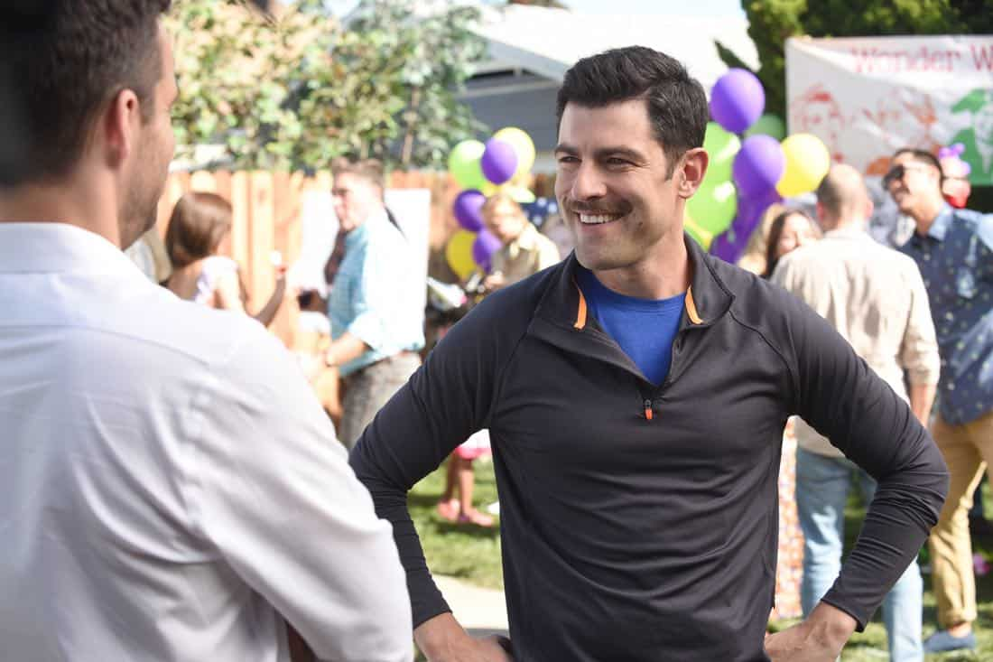 "NEW GIRL: Max Greenfield in the ""About Three Years Later"" season seven premiere episode of NEW GIRL airing Tuesday, April10 (9:30-10:00 PM ET/PT) on FOX. ©2018 Fox Broadcasting Co. Cr: Ray Mickshaw/FOX"