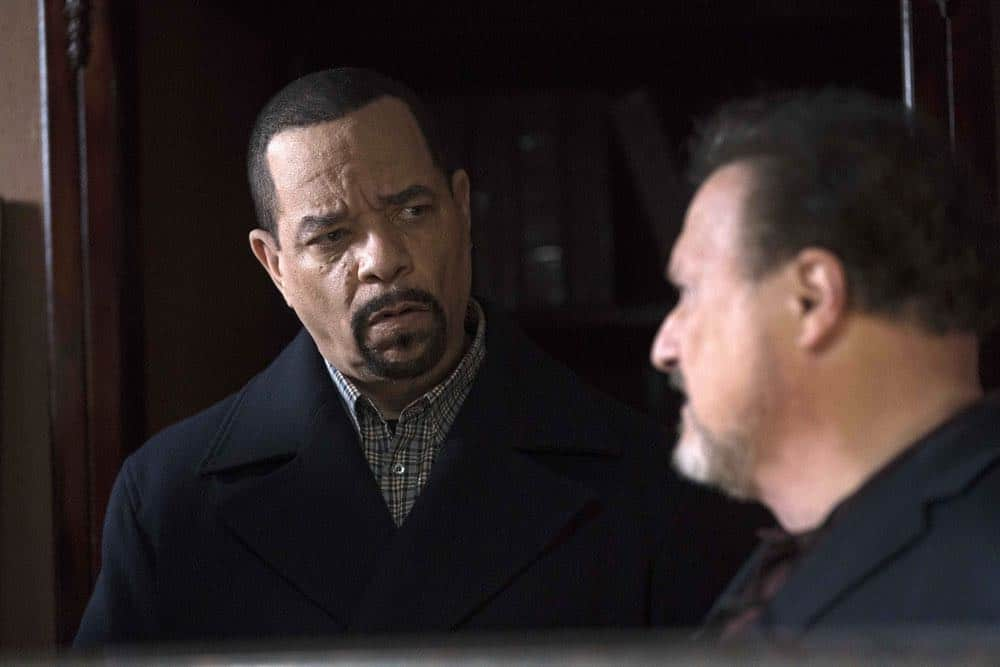 "LAW & ORDER: SPECIAL VICTIMS UNIT -- ""Service"" Episode 1918 -- Pictured: Ice T as Odafin ""Fin"" Tutuola -- (Photo by: Peter Kramer/NBC)"