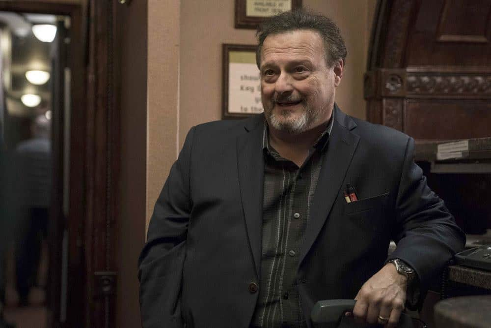 "LAW & ORDER: SPECIAL VICTIMS UNIT -- ""Service"" Episode 1918 -- Pictured: Wayne Knight as Grigor -- (Photo by: Peter Kramer/NBC)"