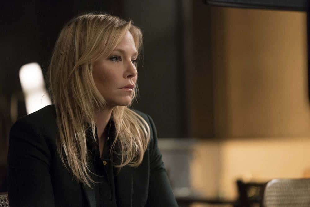 "LAW & ORDER: SPECIAL VICTIMS UNIT -- ""Service"" Episode 1918 -- Pictured: Kelli Giddish as Detective Amanda Rollins -- (Photo by: Peter Kramer/NBC)"
