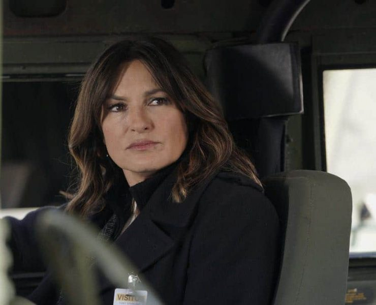 "LAW & ORDER: SPECIAL VICTIMS UNIT -- ""Service"" Episode 1918 -- Pictured: Mariska Hargitay as Lieutenant Olivia Benson -- (Photo by: Peter Kramer/NBC)"