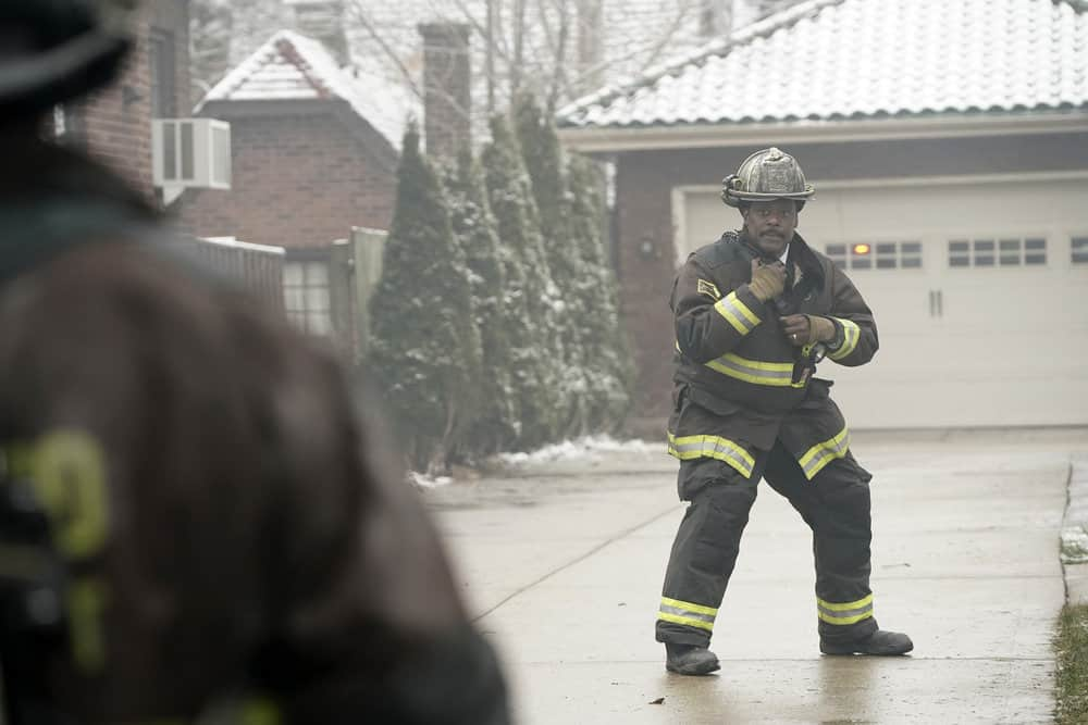 "CHICAGO FIRE -- ""The Chance To Forgive"" Episode 615 -- Pictured: Eamonn Walker as Wallace Boden -- (Photo by: Elizabeth Morris/NBC)"