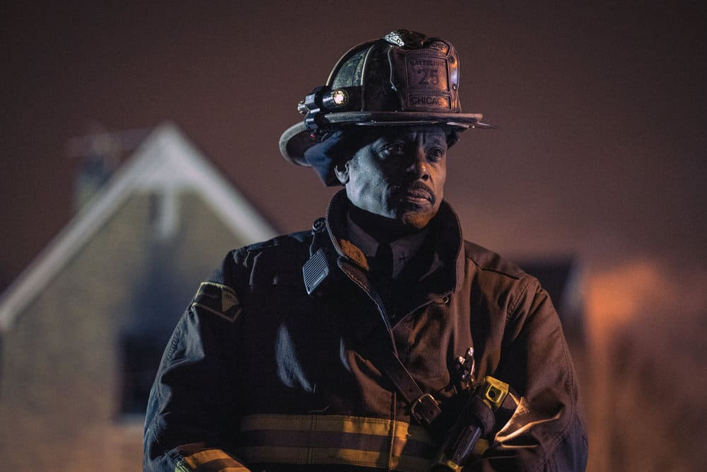 "CHICAGO FIRE -- ""Looking For A Lifeline"" Episode 614 -- Pictured: Eamonn Walker as Wallace Boden -- (Photo by: Elizabeth Morris/NBC)"