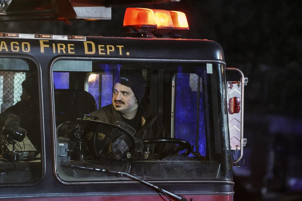 "CHICAGO FIRE -- ""Looking For A Lifeline"" Episode 614 -- Pictured: Yuri Sardarov as Otis -- (Photo by: Elizabeth Morris/NBC)"