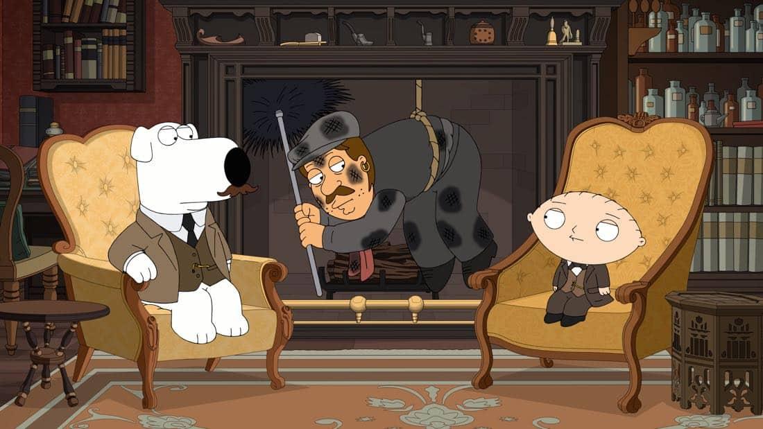 Family Guy Episode 13 Season 16 V Is For Mystery 10