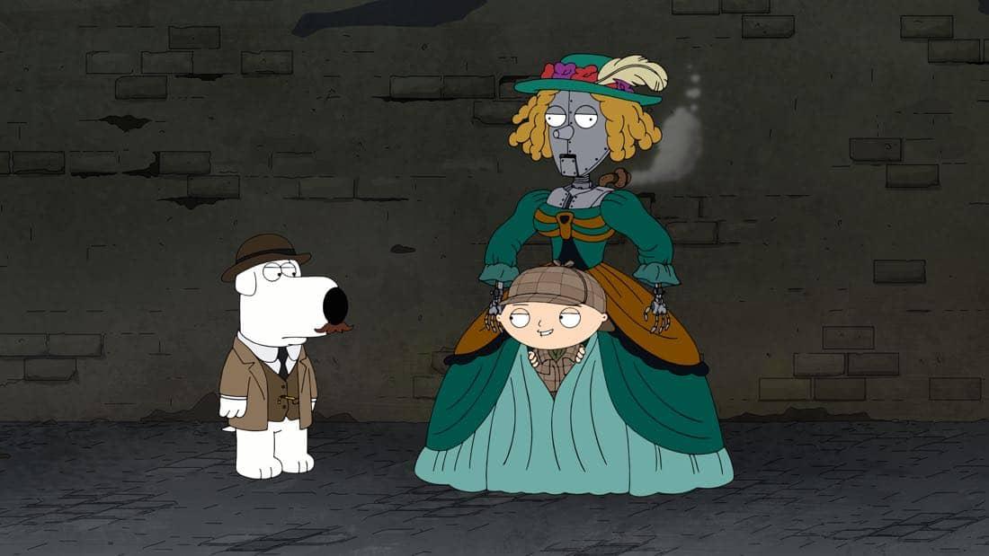 Family Guy Episode 13 Season 16 V Is For Mystery 11