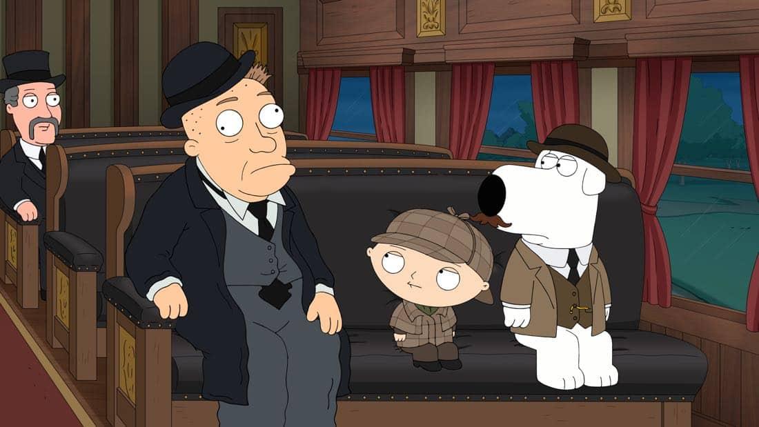 Family Guy Episode 13 Season 16 V Is For Mystery 12