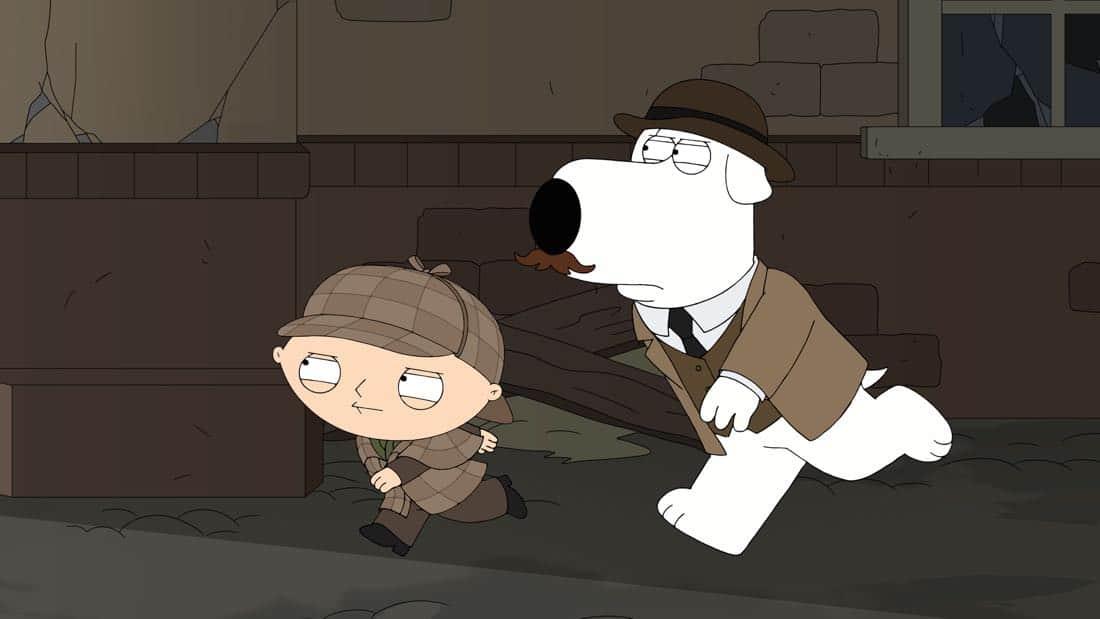 Family Guy Episode 13 Season 16 V Is For Mystery 13