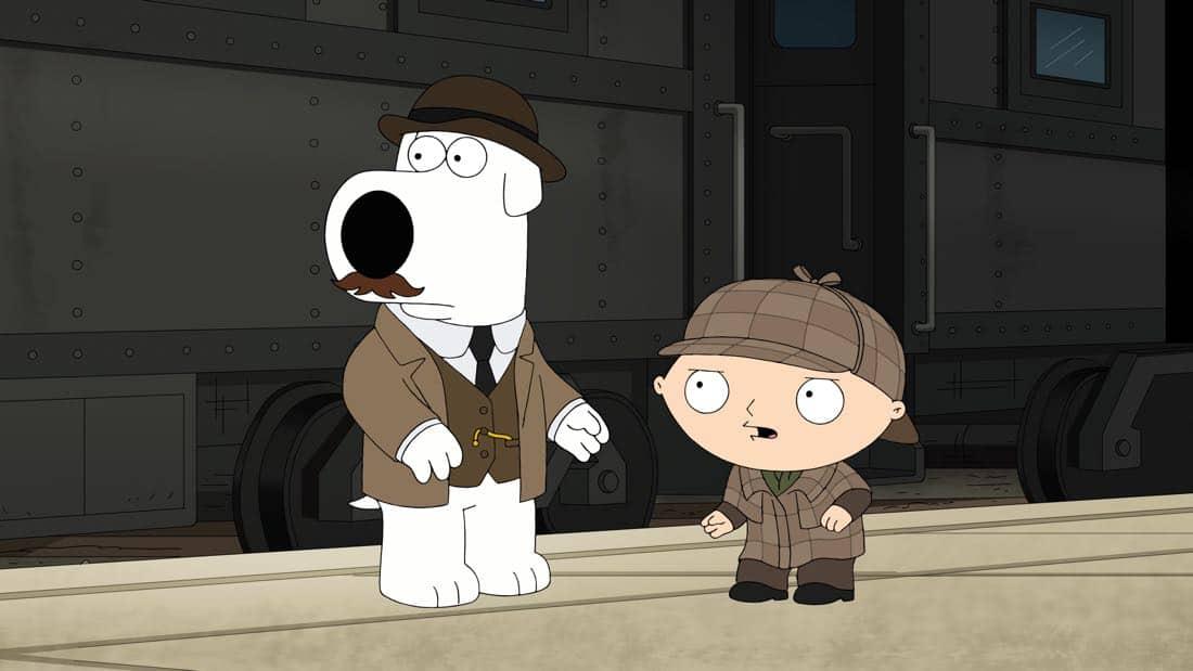 Family Guy Episode 13 Season 16 V Is For Mystery 14