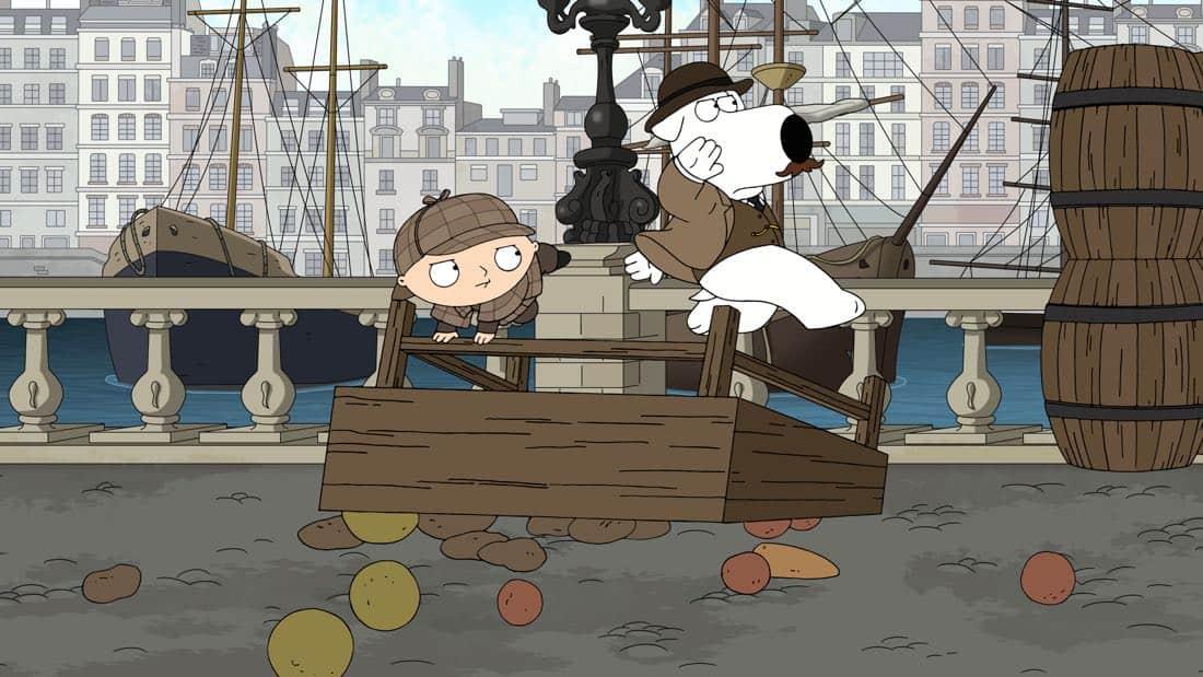 Family Guy Episode 13 Season 16 V Is For Mystery 16