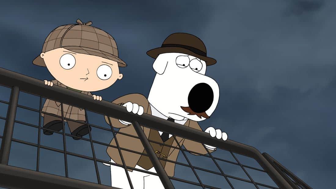 Family Guy Episode 13 Season 16 V Is For Mystery 19