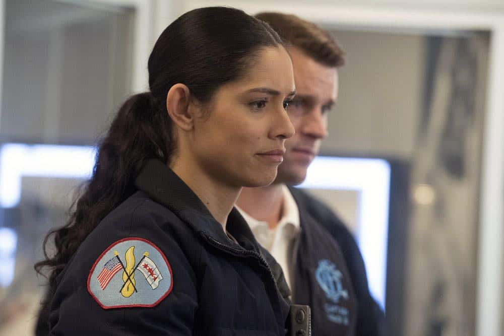 "CHICAGO FIRE -- ""The One That Matters Most"" Episode 616 -- Pictured: Miranda Rae Mayo as Stella Kidd -- (Photo by: Elizabeth Morris/NBC)"
