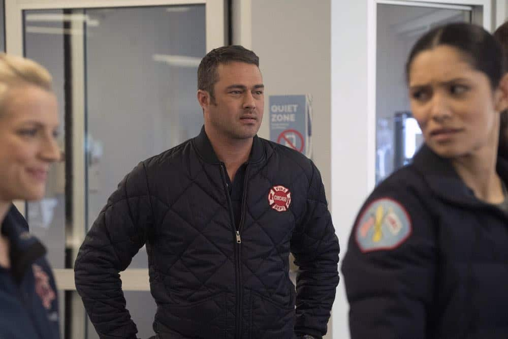 "CHICAGO FIRE -- ""The One That Matters Most"" Episode 616 -- Pictured: Taylor Kinney as Kelly Severide -- (Photo by: Elizabeth Morris/NBC)"