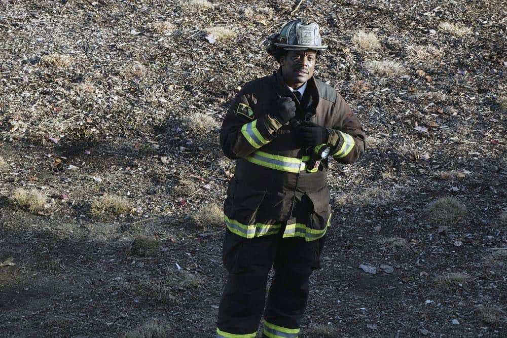 "CHICAGO FIRE -- ""The One That Matters Most"" Episode 616 -- Pictured: Eamonn Walker as Wallace Boden -- (Photo by: Elizabeth Morris/NBC)"