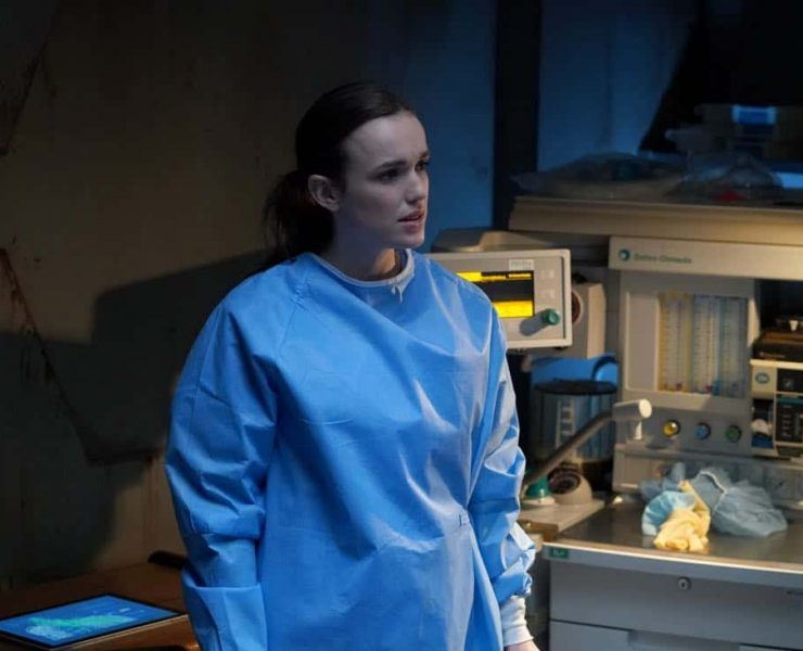 """MARVEL'S AGENTS OF S.H.I.E.L.D. - """"Rise and Shine"""" - Coulson uncovers General Hale's true agenda, and it could be the end of the world if S.H.I.E.L.D. doesn't help her, on """"Marvel's Agents of S.H.I.E.L.D.,"""" FRIDAY, MARCH 30 (9:01-10:01 p.m. EDT), on The ABC Television Network. (ABC/Byron Cohen) ELIZABETH HENSTRIDGE"""