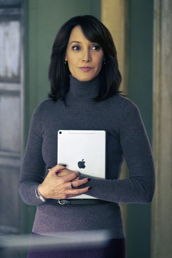 "TAKEN -- ""Verum Nocet"" Episode 209 -- Pictured: Jennifer Beals as Christina Hart -- (Photo by: Christos Kalohoridis/NBC)"