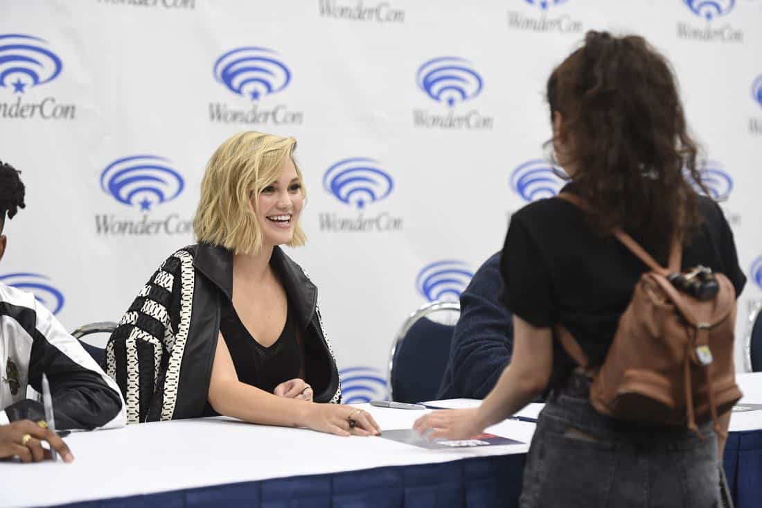 """MARVEL'S CLOAK & DAGGER - The executive producers and cast of Freeform's highly-anticipated new original series """"Marvel's Cloak & Dagger"""" attended WonderCon to promote the June 7th premiere. (Freeform/Aaron Poole) OLIVIA HOLT"""