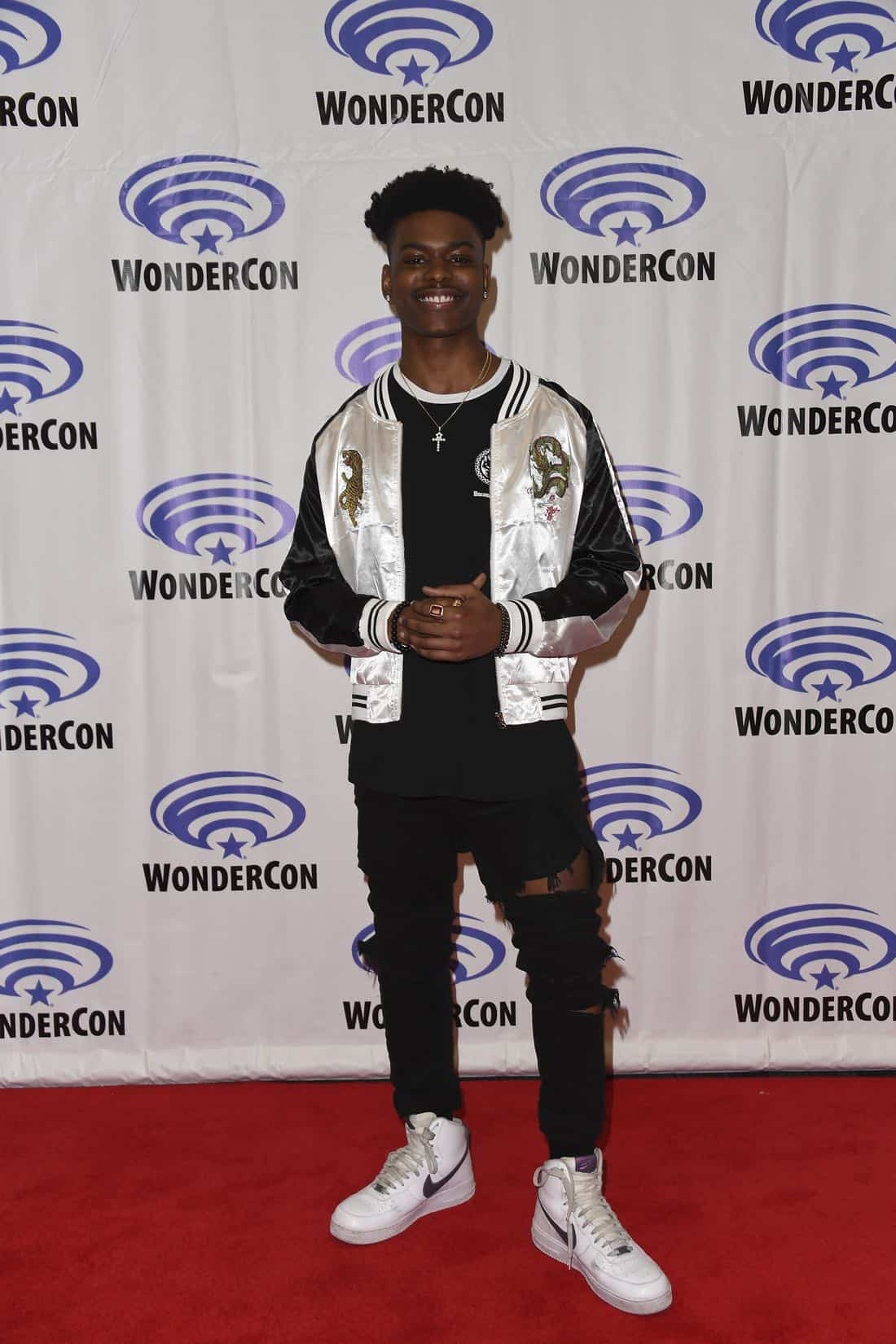 "MARVEL'S CLOAK & DAGGER - The executive producers and cast of Freeform's highly-anticipated new original series ""Marvel's Cloak & Dagger"" attended WonderCon to promote the June 7th premiere. (Freeform/Aaron Poole)"