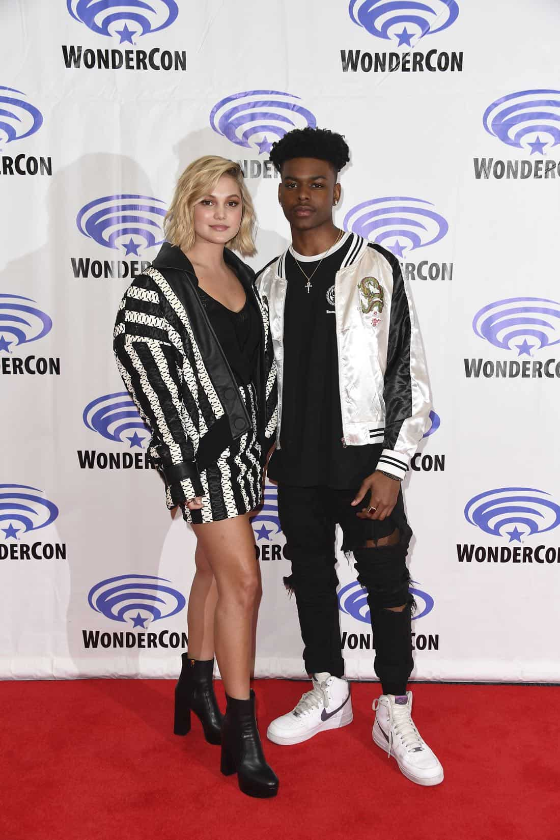 "MARVEL'S CLOAK & DAGGER - The executive producers and cast of Freeform's highly-anticipated new original series ""Marvel's Cloak & Dagger"" attended WonderCon to promote the June 7th premiere. (Freeform/Aaron Poole) OLIVIA HOLT, AUBREY JOSEPH"