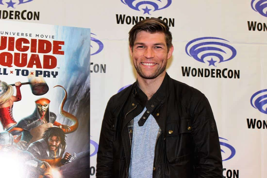 Liam McIntyre Suiside Squad Hell To Pay