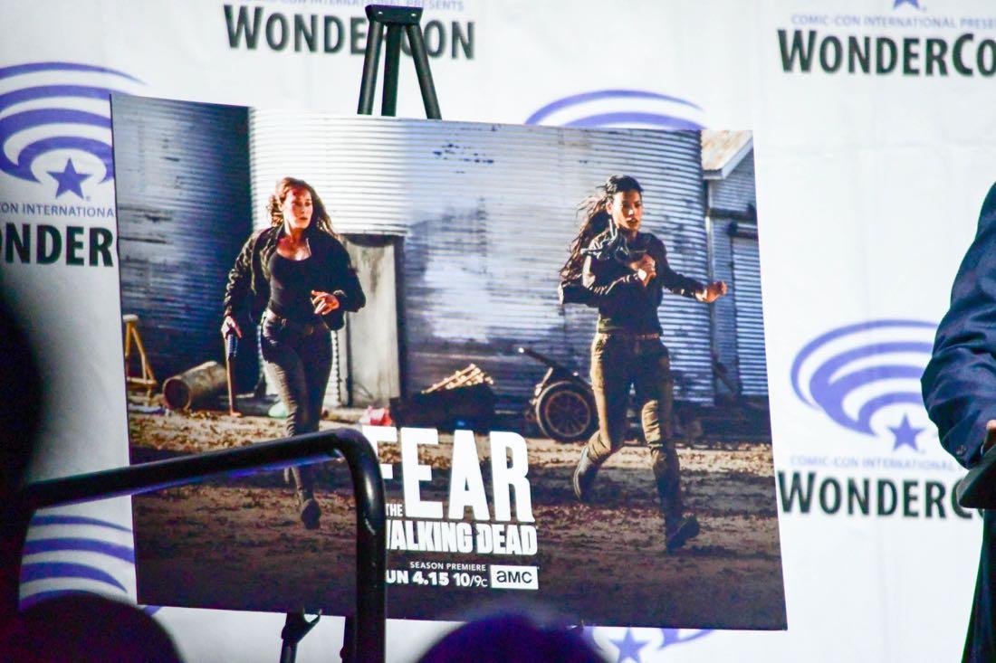 Fear The Walking Dead Cast WonderCon 2018 01