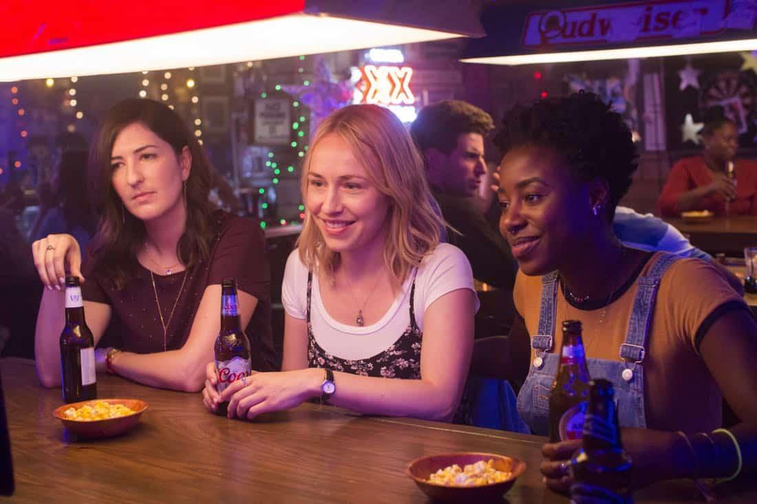 Barry Episode 1 D'Arcy Carden, Sarah Goldberg, Kirby Howell-Baptiste. photo: John P. Johnson/HBO