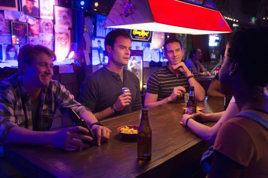 Barry Episode 1 Tyler Jacob Moore, Bill Hader, Rightor Doyle. photo: John P. Johnson/HBO
