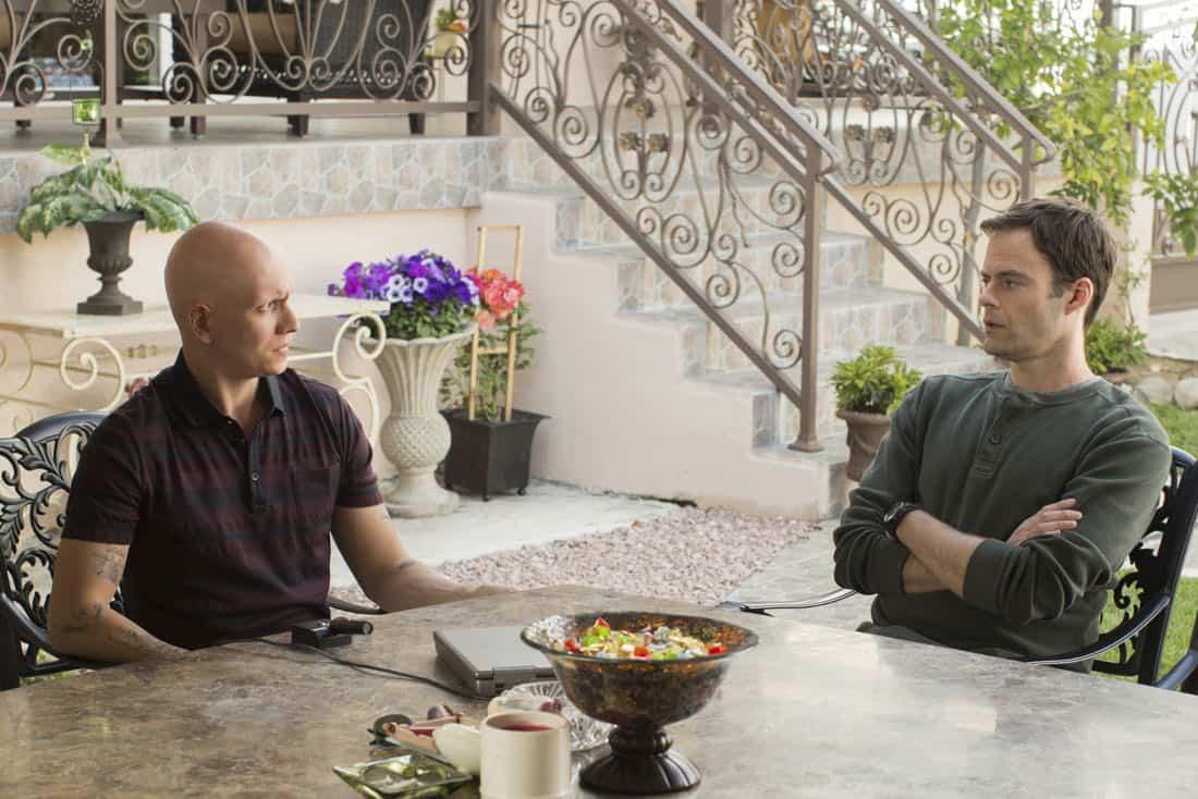 Barry Episode 1 Anthony Carrigan, Bill Hader. photo: John P. Johnson/HBO