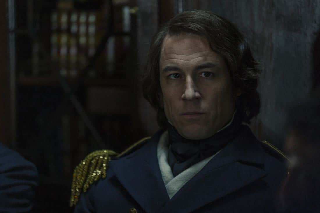 Tobias Menzies as James Fitzjames- The Terror _ Season 1, Episode 1 - Photo Credit: Aidan Monaghan/AMC