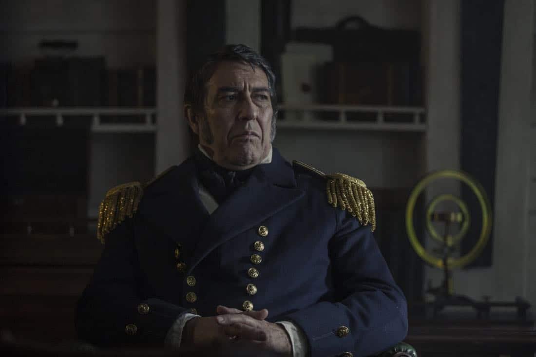 Ciarán Hinds as John Franklin- The Terror _ Season 1, Episode 1 - Photo Credit: Aidan Monaghan/AMC